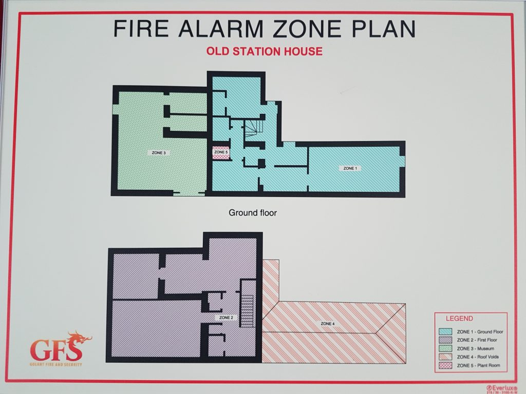 Zone/Escape Plans Cornwall - Golant Fire And Security ...